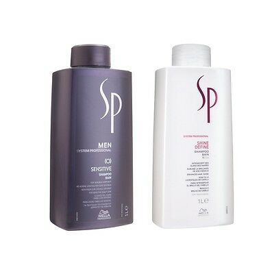 Wella SP 1000 ml  Shampoo Keratin Hydrate Repair Volumize Color Save NEU
