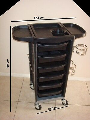 Large Professional Salon Beauty Spa Hairdresser Hair Coloring Trolley Furniture