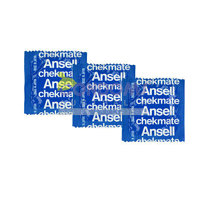 Ansell Chekmate Regular Bulk 100 Condoms EXPRESS