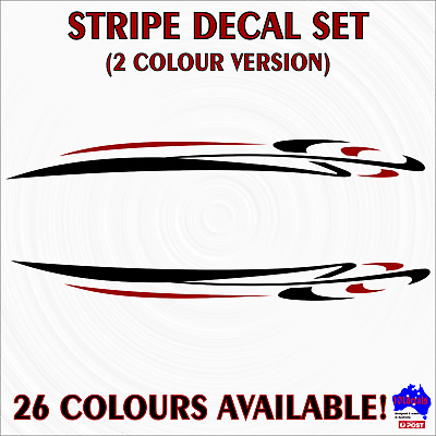 59cm Stripe #6 2 colour decals.Car,4wd,caravan,fishing boat graphic pin striping