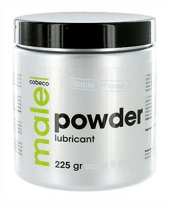 NEW Cobeco MALE Powder Lubricant Concentrate 225g Tub Makes c 5 Ltrs of Lube Gel