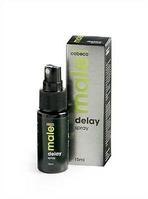 NEW Cobeco MALE Delay Spray For Men With Premature Ejaculation Problems 15ml