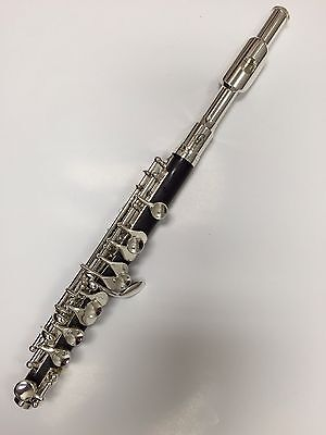NEW Gemeinhardt 1P Piccolo, Silver-Plated Headjoint, plastic body, for beginners