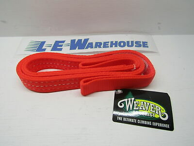 "Weaver Leather Arborist Lineman 1"" X 40"" Blaze Orange Nylon Sling 08-98235-40"