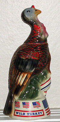 NICE LIMITED EDITION WILD TURKEY DECANTER SPIRIT OF 76 WITH BOX  (NUMBER 5)