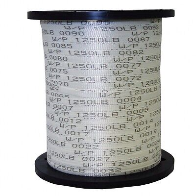 "USA Made 1/2"" x 3000' 1250 Lb Polyester Pull Tape / Mule Tape"