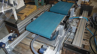 "Sew MK Automation Inc. Powered 11.25"" x 18"" Conveyer x 2  w Motor Controllers"