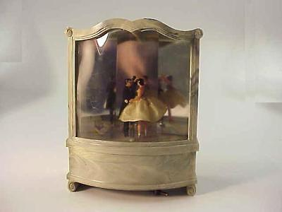 VINTAGE REUGE DANCING COUPLE MUSIC BOX FOR CODY MUSICAL CREATIONS