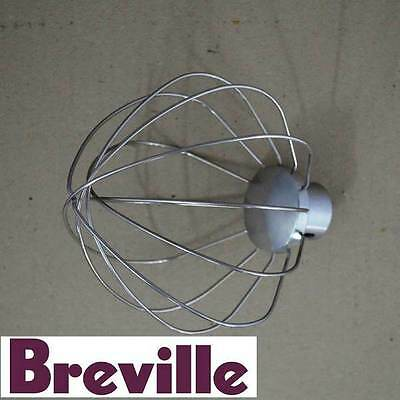 Genuine Breville Mixer Balloon Whisk Attachment Part Bem800/330