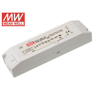 Mean Well PLC DC 24V/48V  Power Supply LED Driver Water & Dust-proof