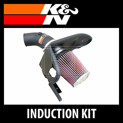 K&N 57i Gen 2 Performance Air Induction Kit 57-1001 - K and N High Flow Part