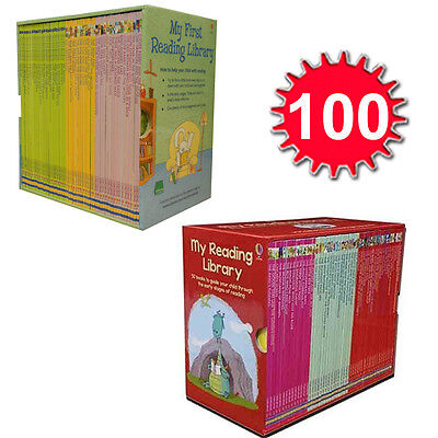 Usborne Very First Reading Library 100 Books Set Collection Complete Sch