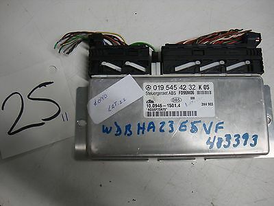 Mercedes-Benz W202 C230 C280 ABS control module 019 545 42 32 for 1997 Mercedes