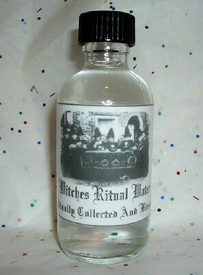 Witches Ritual Water - Pagan Holy Water - Witchcraft - Wicca - HooDoo
