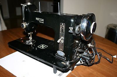 Necchi BF vintage sewing machine for parts