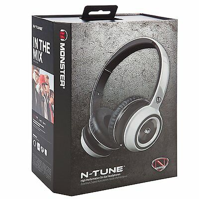 Monster Ncredible Ntune On-Ear, ControlTalk Universal - Frost White
