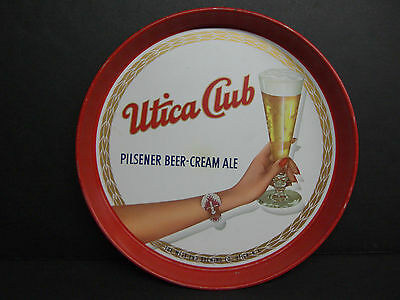 UTICA CLUB PILSENDER BEER CREAM ALE BEER TRAY - The West End Brewing Co,.