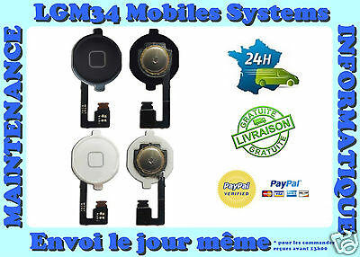 Bouton Home  Iphone 4 4S Avec Nappe