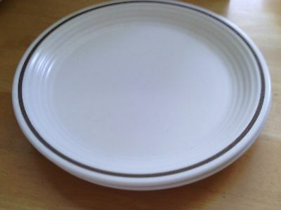 Town & Country Collection *MILL RUN* Brown Band Salad 7-3/4 Plate