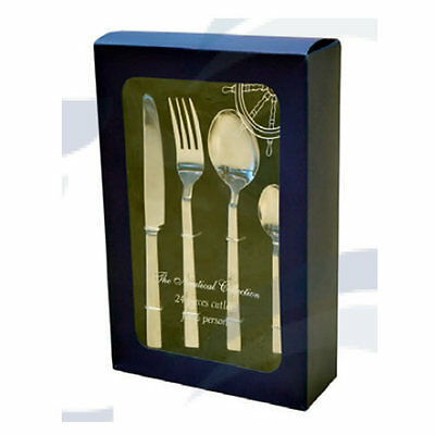 Set de 24 couverts INOX