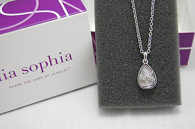 Lia Sophia HIGH TIDE Necklace Starfish Shape ~ Genuine Mother of Pearl ~ NIBWT