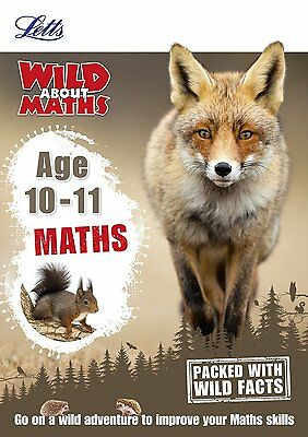Maths Age 10-11 (Letts Wild About) by Pamela Wild (Paperback Book)
