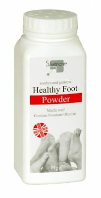 ATHLETES FOOT POWDER HEALTHY MEDICATED TREATS AND PREVENTS ANTI FUNGAL 75g