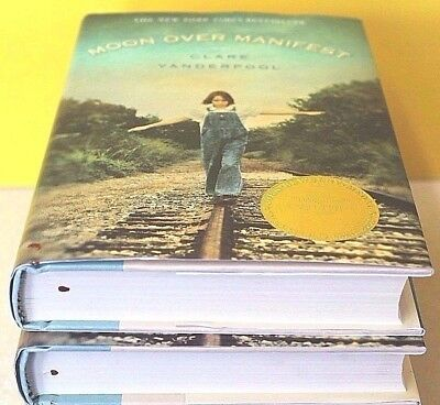 Moon over Manifest by Clare Vanderpool (Hardcover) NEW