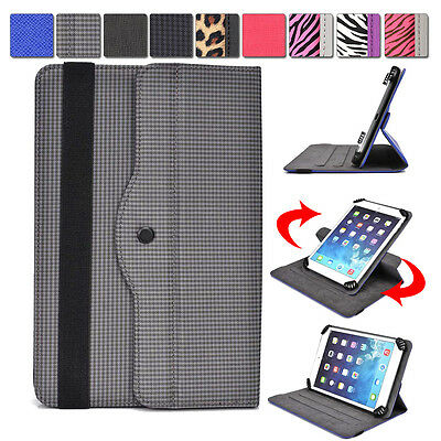 """AR2 Kroo 360 Degree Rotating Folding Folio Stand Cover fits 7"""" Tablet E-Reader"""