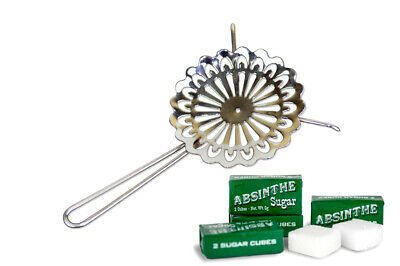 #27 French Absinthe Grille / Spoon & 10 Sugar Cubes - Free Shipping