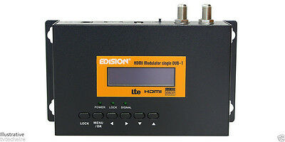HDMI Modulator Edision Full HD RF Modulator For Sky Freesat Freeview Virgin UPC