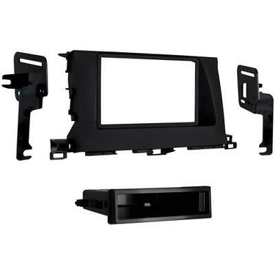 Metra 99-8248B Black Single/Double DIN Dash Kit for 2014-up Toyota Highlander