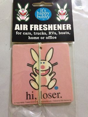 It's Happy Bunny Air Freshener, NEW