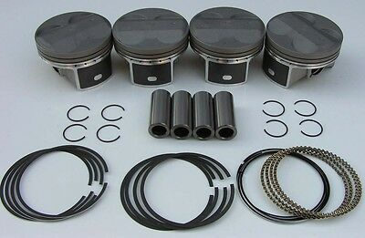JDM NIPPON RACING FLOATING PRC ITR PISTONS TYPE R K20 DC5 NPR Oversize 87mm NEW