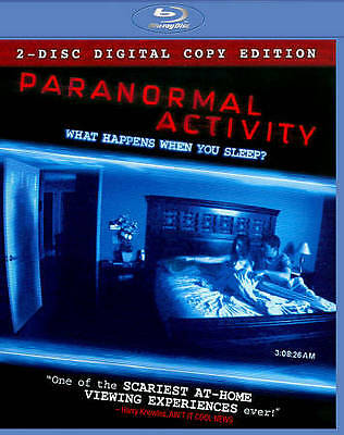 Paranormal Activity Blu-ray Factory Sealed NEW Quick Shipping