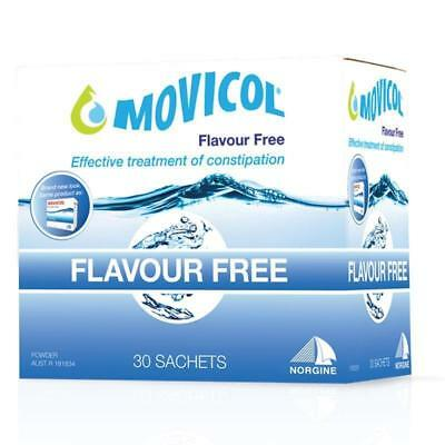 Movicol Constipation Relief Flavour Free 30 Sachets 13G Natural Laxative