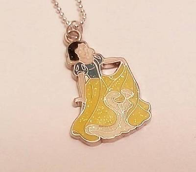 ***SNOW WHITE*** Charm*Silver*Necklace