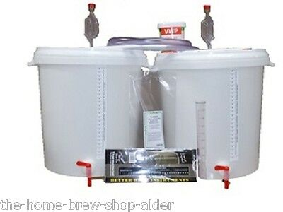 Basic Starter Equipment kit for 5 Gallons Wine-Beer-Cider-Spirits - Home Brewing