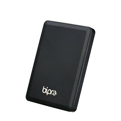 Bipra 320GB 2.5 inch USB 3.0 FAT32 Portable Slim External Hard Drive - Black