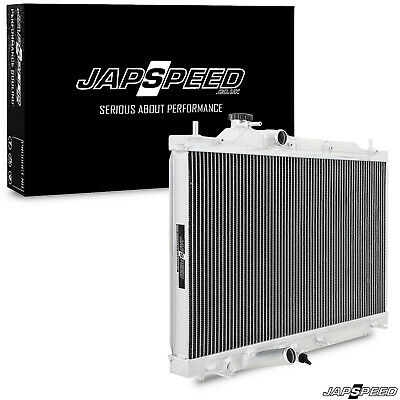 Japspeed Honda Civic Type-R Fn2 2006-2011 K20 High Flow Aluminium Race Radiator