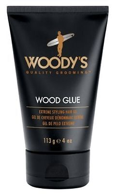(€11,94/100g)  WOODY'S DAILY Wood Glue Gel extra stark Halt für Mann USA 113 g
