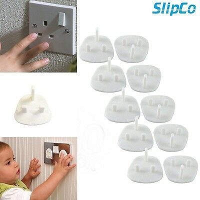 10x Plug Socket Cover Baby Proof Child Safety Protector Guard Mains Electrical