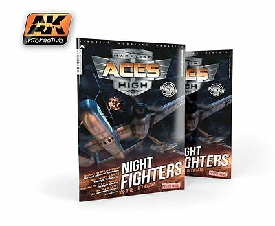 AK Interactive Magazine Aces High AK2900 Night Fighters of the Luftwaffe