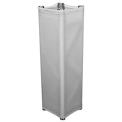 Global Truss GT-TC3.0 Truss White Scrim Cover For 9.84Ft Square Truss Section