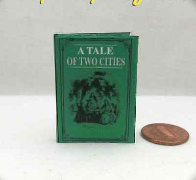 A TALE OF TWO (2) CITIES 1:6 Scale Book Readable Illustrated Miniature Barbie