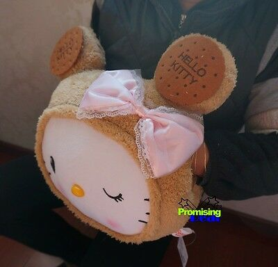 Hello Kitty Biscuit Bear Plush Warm Hand Cushions Nap Pillow Soft