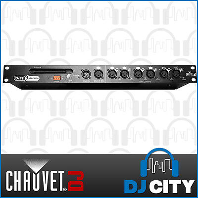 CHAUVET DFI Stream 6 Wireless Transceiver & Optosplitter D-FI STREAM6 DMX