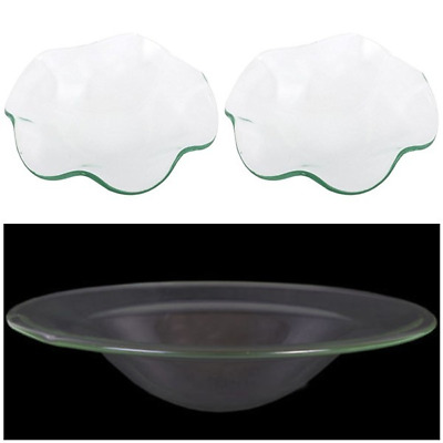 12cm or 10cm Replacement spare glass bowl Dish for oil burner  buy 2 get 1 free