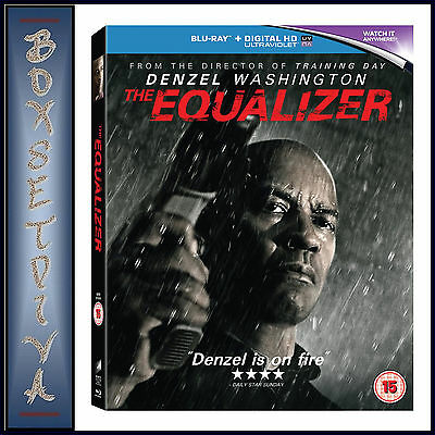 THE EQUALIZER - Denzel Washington **BRAND NEW BLU-RAY  **