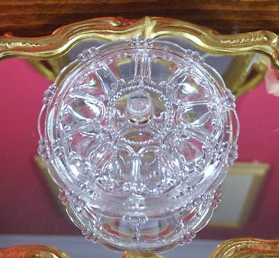 Victorian Style Vintage Glass Sweet or Trinket Dish